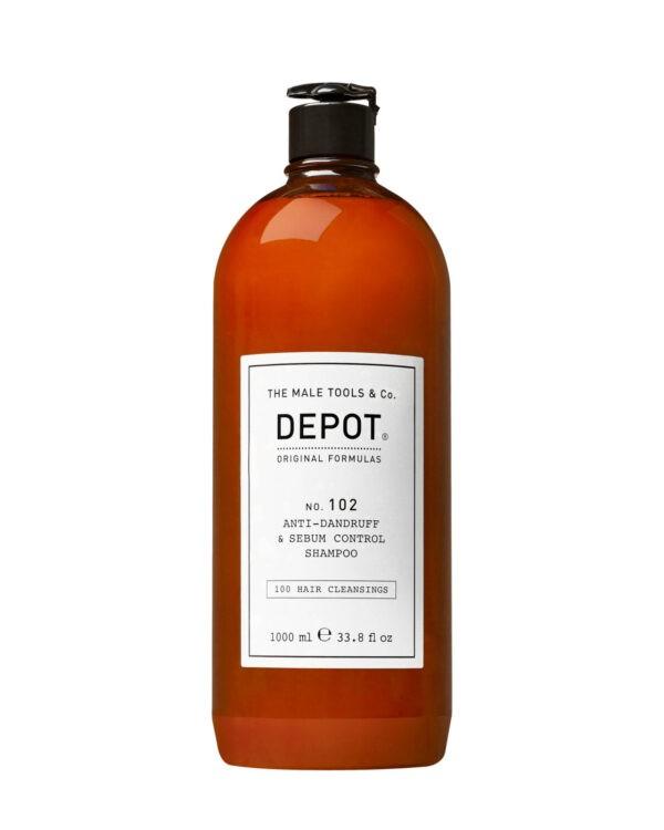 Depot 102 shampoo capelli per uomo