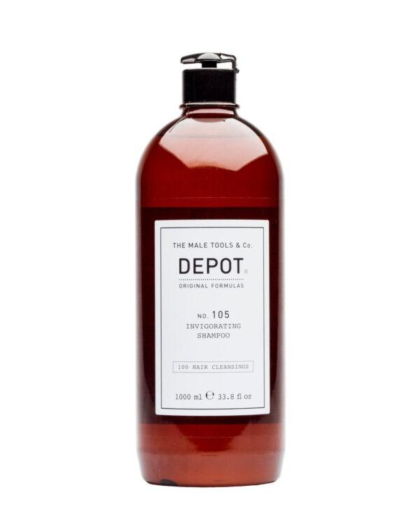 Depot 105 invigorating shampoo uomo