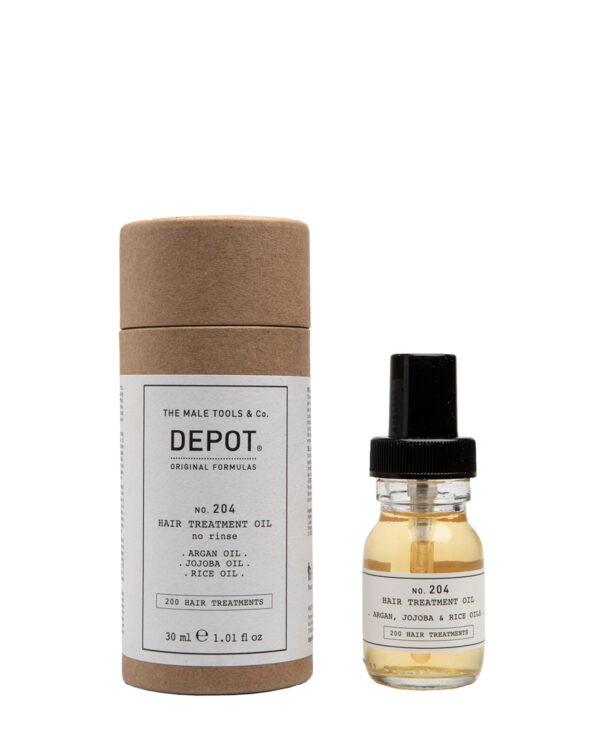 Depot 204 trattamento olio capelli