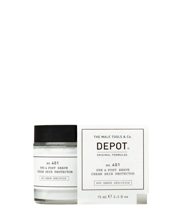 Depot 401 prodotto per rasatura barba