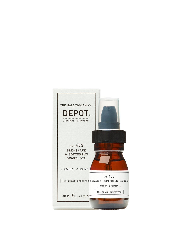 Depot 403 olio pre rasatura