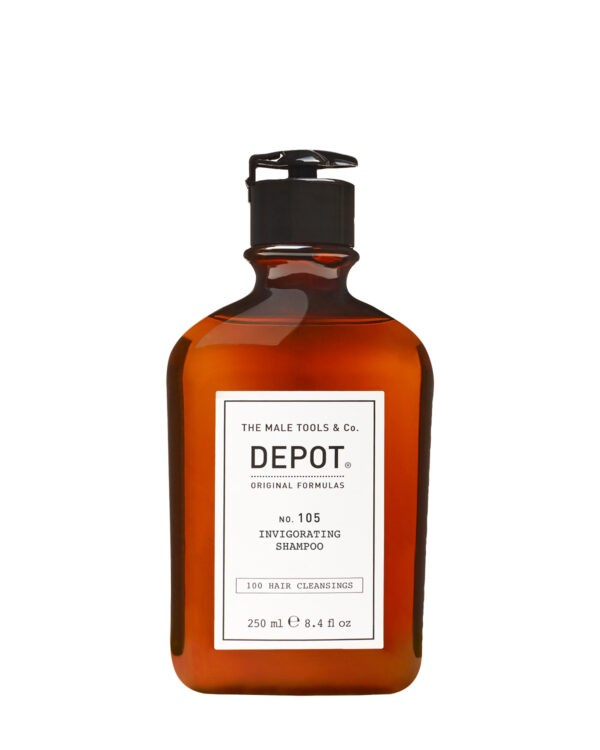Depot 105 invigorating shampoo