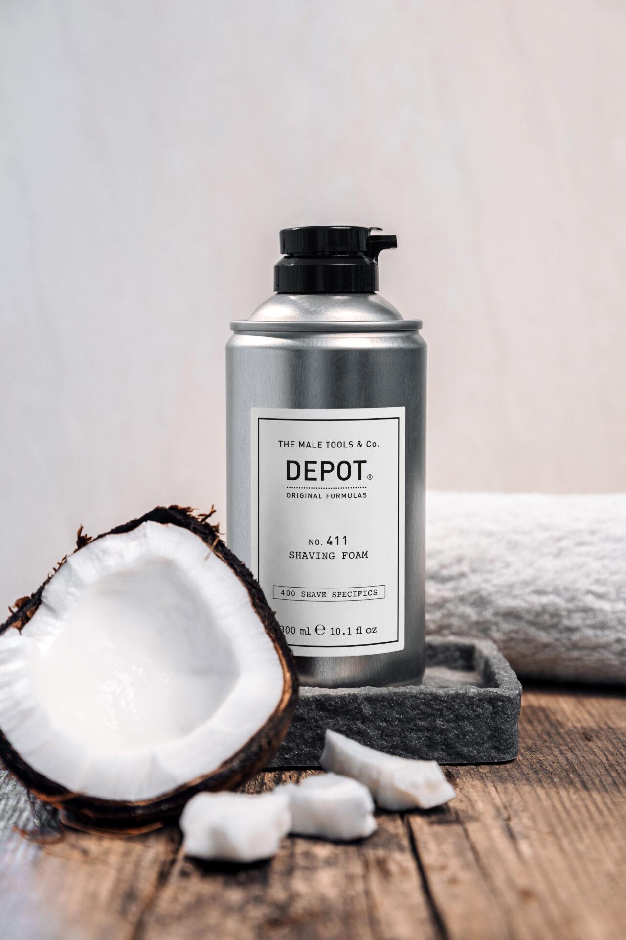 DEPOT 411 Shaving Foam